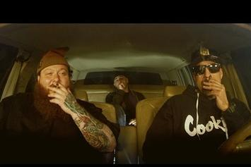 """B Real Interviews Action Bronson In """"The Smokebox"""" With Alchemist"""