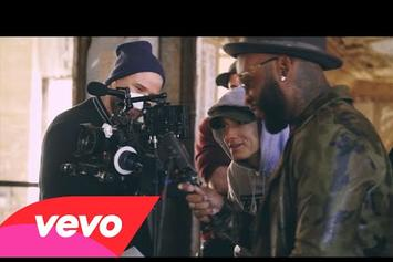 "Eminem Feat. Yelawolf & Slaughterhouse ""CXVYPHER"" Behind-The-Scenes"