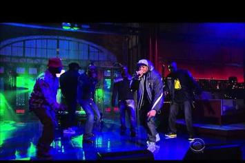 "Wu-Tang Clan ""Ruckus In B Minor"" Live On David Letterman"