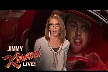 "Mac Miller's Mom Recites ""Watching Movies"" On ""Jimmy Kimmel Live"""