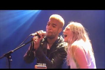"""Kid Cudi Performs """"Pursuit Of Happiness"""" With Lissie In Paris"""