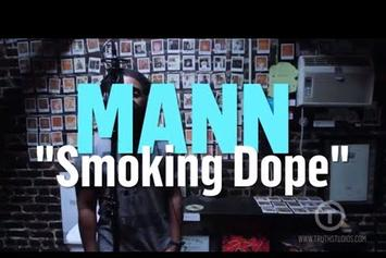 "MANN Performs New Track ""Smoking Dope"" Live @ Truth Studios"
