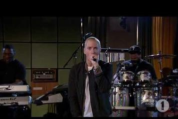 "Eminem Performs ""Stan"" Live For BBC Radio 1"