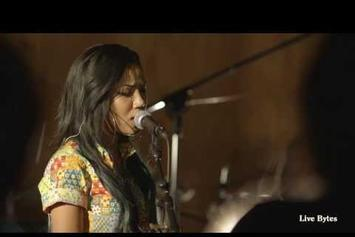 """Jhene Aiko Performs """"3:16 AM"""" On Live Bytes"""