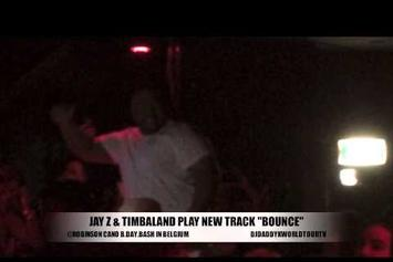 """Timbaland Previews New Jay Z Track """"Bounce"""""""