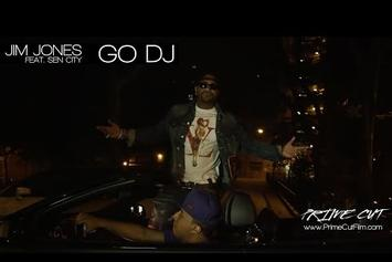 "Jim Jones Feat. Sen City ""Go DJ"" Video"