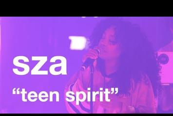 "SZA Performs 'Teen Spirit"" Live"