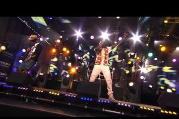 """2 Chainz Feat. Pharrell """"Performs """"Feds Watching"""" On Jimmy Kimmel"""" Video"""