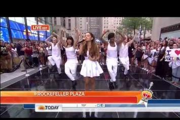 """Ariana Grande Feat. Mac Miller """"Perform """"The Way"""" (Live On Today Show)"""" Video"""