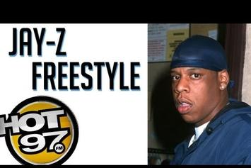 """Jay-Z """"""""Grammy Family"""" Freestyle On Hot 97 (Vintage Footage)"""" Video"""