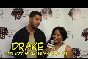 "Drake ""Talks 2 Chainz & Nothing Was The Same "" Video"
