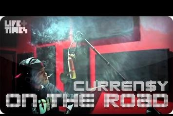 """Curren$y """"On The Road"""" Video"""