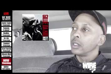 "Gillie Da Kid Feat. Pusha T ""BTS Of ""Tryna Get Me One"""" Video"