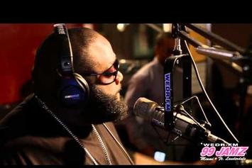 """Rick Ross """"Talks Young Jeezy & 50 Cent"""" Video"""