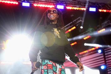"""Lil Wayne Calls """"White Boy"""" Out For Throwing A Beer At Him During Show"""