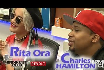 Charles Hamilton & Rita Ora On The Breakfast Club