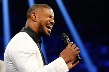 "See The Tracklist To Jamie Foxx's ""Hollywood: A Story Of A Dozen Roses"""