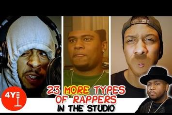 "4Yall Entertainment & Boi-1da ""23 More Types Of  Rappers In The Studio"" Video"