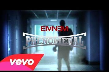 "Eminem ""Phenomenal"" Lyric Video"