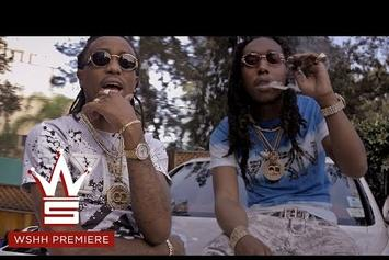 "Migos ""Spray The Champagne"" Video"