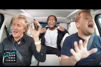 "Rod Stewart & ASAP Rocky Do Carpool Karaoke To ""Everyday"""
