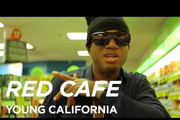 "Red Cafe ""Cheers To Young California"" Video"