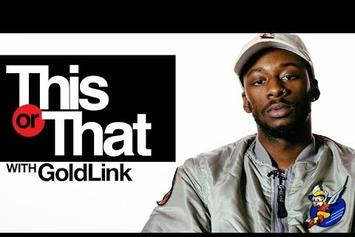 """GoldLink Plays """"This Or That"""""""