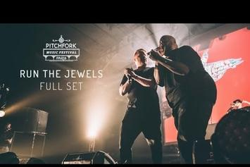Watch Run The Jewels' Complete Set At Pitchfork Music Festival 2015
