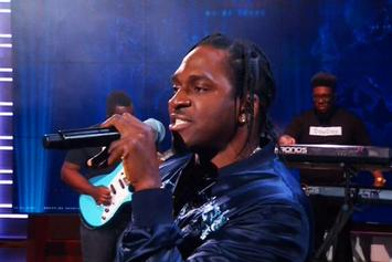 """Pusha T Debuts New Song """"Sunshine"""" On """"The Daily Show"""""""