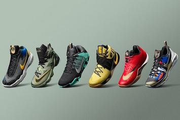 Nike Releases Special Edition Sneakers For NBA All-Star Weekend