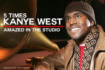 5 Times Kanye West Amazed In The Studio