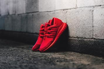 Adidas Originals Drops An All-Red Tubular Nova