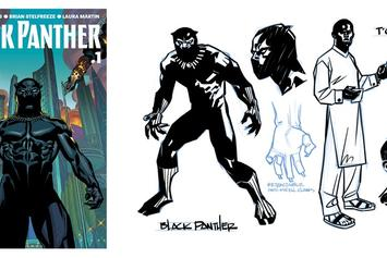 """Preview Ta-Nehesi Coates' Version Of Marvel's """"Black Panther"""""""