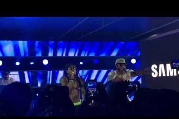 "Lil Wayne & 2 Chainz Perform ""Gotta Lotta"" On Jimmy Kimmel Live At SXSW"