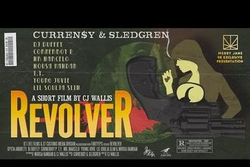 """Six New Curren$y Tracks With Sledgren Appear In Short Film """"Revolver"""""""