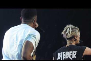 "Justin Bieber & Ludacris Performed ""Baby"" In Atlanta Last Night"
