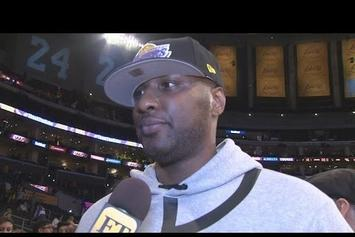 Lamar Odom Wants To Return To The NBA