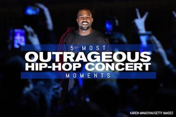 5 Most Outrageous Hip-Hop Concert Moments