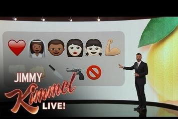 "Jimmy Kimmel Explains Beyonce's ""Lemonade"" With Emojis"