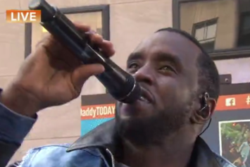 Puff Daddy & The Family Perform On The Today Show