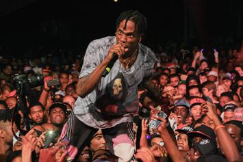 """Travis Scott Blasts 300 For Taking Down """"Pick Up The Phone"""""""
