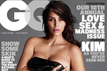 Kim Kardashian West Graces The Cover Of GQ Magazine For The First Time