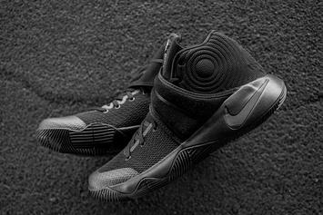 """Release Reminder: """"Triple Black"""" Nike Kyrie 2 Releases This Saturday"""