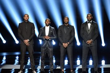 LeBron James, Dwyane Wade, Carmelo Anthony And Chris Paul Open ESPY Awards With Powerful Speech