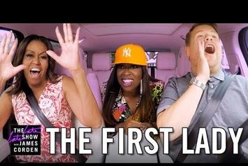 Carpool Karaoke With Missy Elliott, Michelle Obama & James Corden