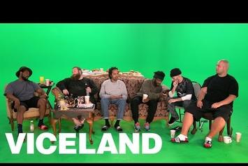 "Action Bronson Watches ""Ancient Aliens"" With ScHoolboy Q & Earl Sweatshirt"