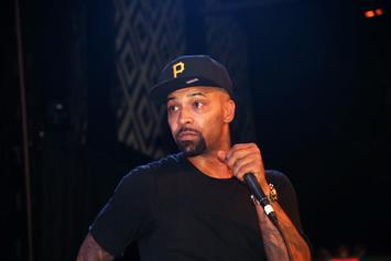 Joe Budden Chases Kids Who Run Up On His Property, Beats Their Car With Rocks