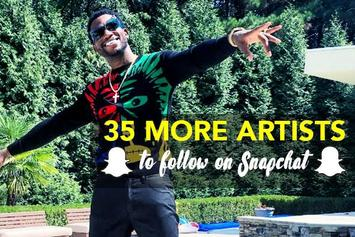 35 More Artists To Follow On Snapchat