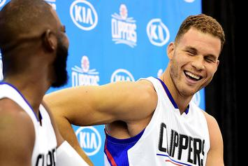 Watch Blake Griffin Throw A Shoe At Cory Joseph's Face