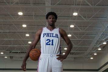 """Joel Embiid Wants To Be Introduced As Joel """"The Process"""" Embiid"""